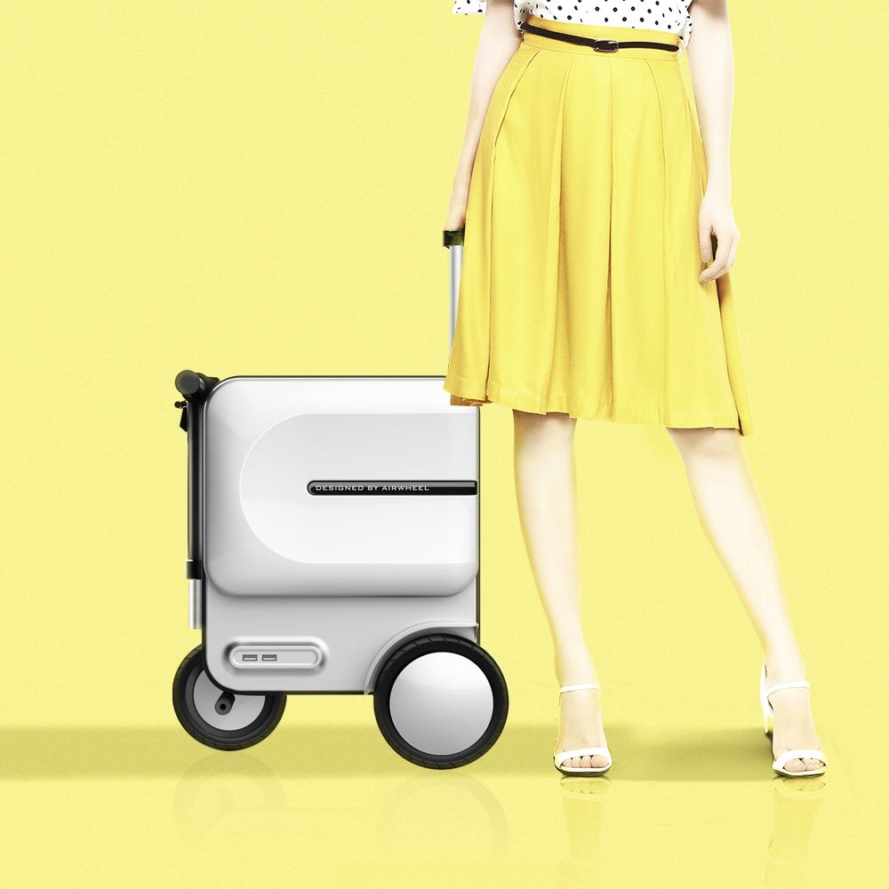 Airwheel SE3 ride on luggage for adults1