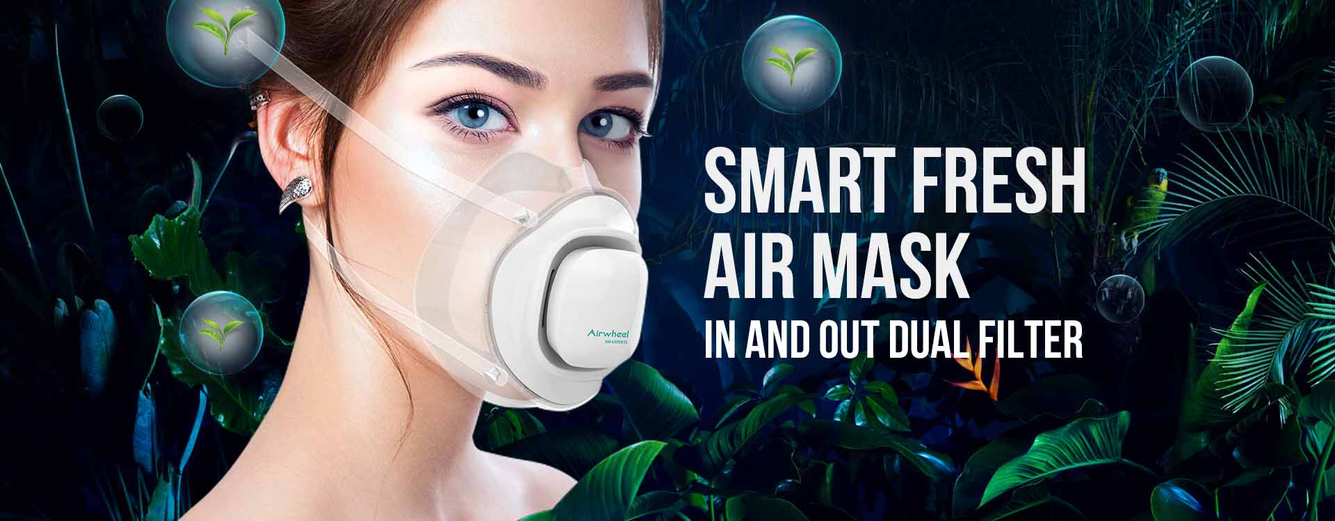 Airwheel F3 air experts electric mask