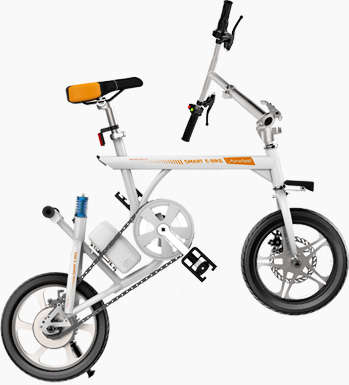 Airwheel R3 electric assist bicycle
