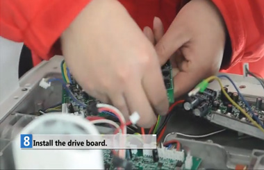 Airwheel S3 control board and drive board changing vedio